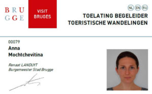 Bruges Tour Guide License
