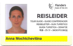Tour Guide for Ghent and Bruges Licence